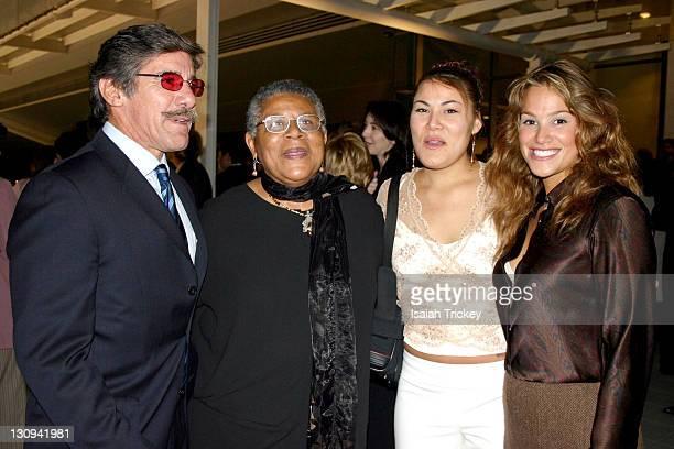 Geraldo Rivera Minniejean Brown Trickey Leila Trickey and Geraldo's wife CC
