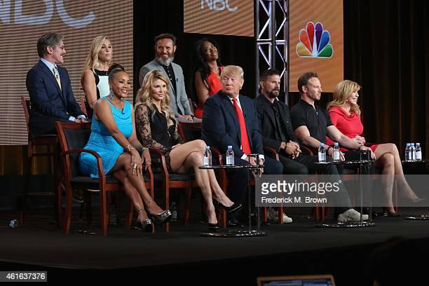 Geraldo Rivera TV personality Kate Gosselin executive producer Mark Burnett and actress Kenya Moore Actress Vivica A Fox TV personality Brandi...
