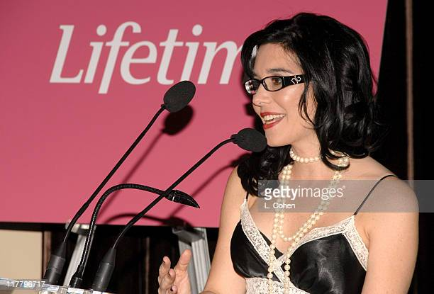 Geralyn Lucas during Lifetime Presents Why I Wore Lipstick to My Mastectomy Los Angeles Screening at Social in Hollywood California United States