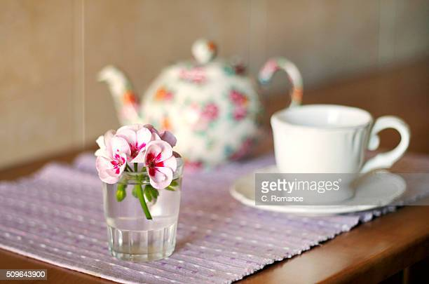 Geranium and Breakfast