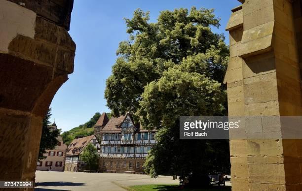 gerany, monastery maulbronn - cisterciense - fotografias e filmes do acervo