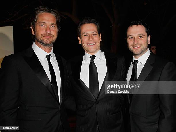 Gerard Butle Ioan Gruffudd and Matthew Rhys attend the Art Of Elysium's 4th Annual 'Heaven' Charity Gala at California Science Center's Wallis...