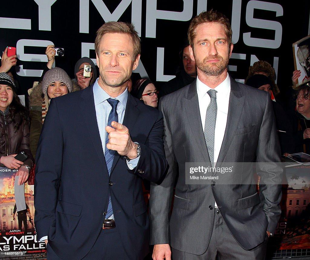 Olympus Has Fallen - UK Premiere - Red Carpet Arrivals : News Photo