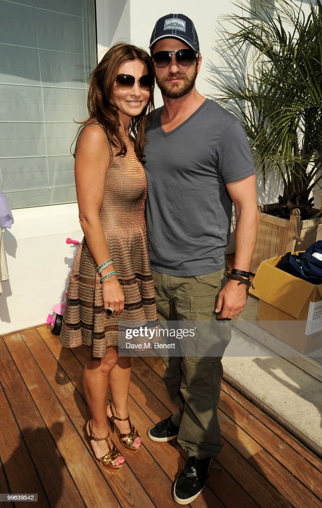Gerard Butler and Ella Krasner attend the Amend Charity Luncheon at the Hotel du Cap as part of the 63rd Cannes Film Festival on May 17, 2010 in Antibes, France.