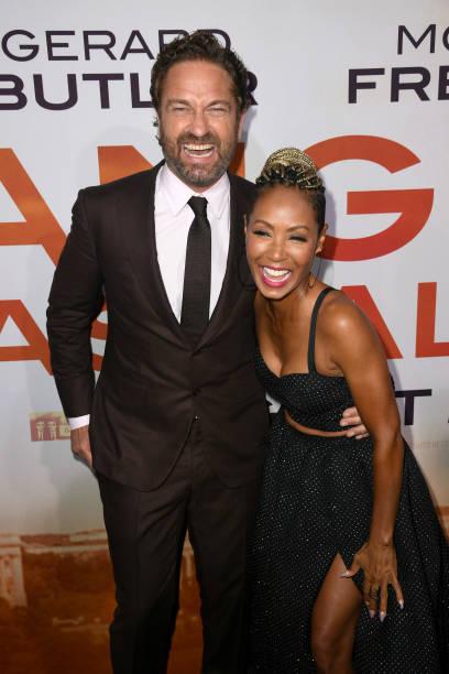 """CA: LA Premiere Of Lionsgate's """"Angel Has Fallen"""" - Red Carpet"""