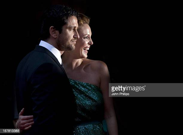 Gerard Butler And Katherine Heigl Attend The European Premiere Of 'The Ugly Truth' At The Vue Leicester Square In London
