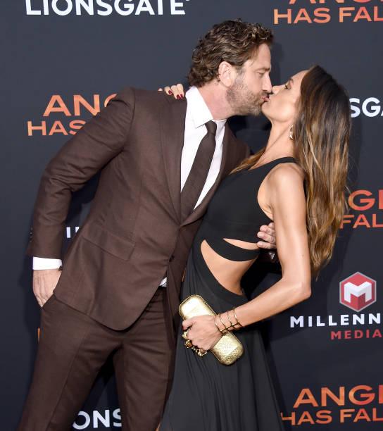 """CA: LA Premiere Of Lionsgate's """"Angel Has Fallen"""" - Arrivals"""