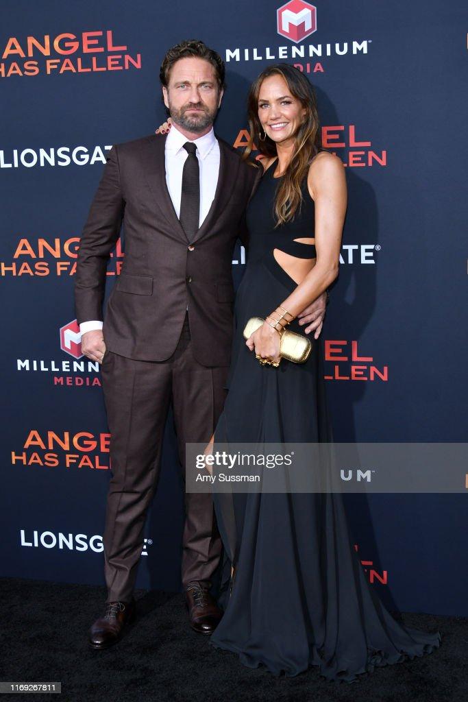"""LA Premiere Of Lionsgate's """"Angel Has Fallen"""" - Arrivals : News Photo"""