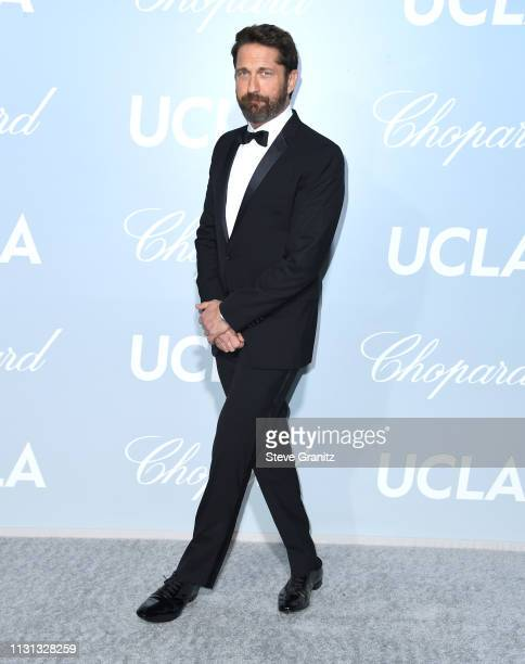 Gerard Butler arrives at the Hollywood For Science Gala at Private Residence on February 21 2019 in Los Angeles California