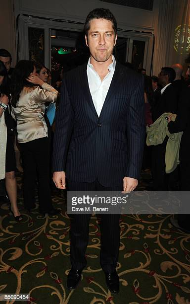Gerard Butler arrives at the Jameson Empire Awards 2009 at the Grosvenor House Hotel on March 29 2009 in London England