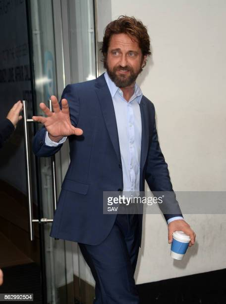 Gerard Butler at Global House on October 19 2017 in London England