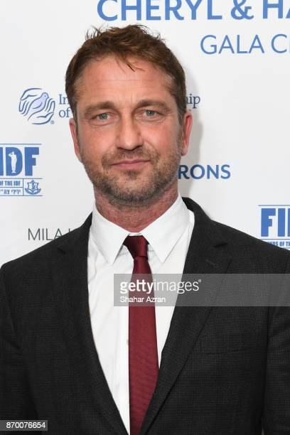 Gerard Butler at the FIDF Western Region Gala at The Beverly Hilton Hotel on November 2 2017 in Beverly Hills California