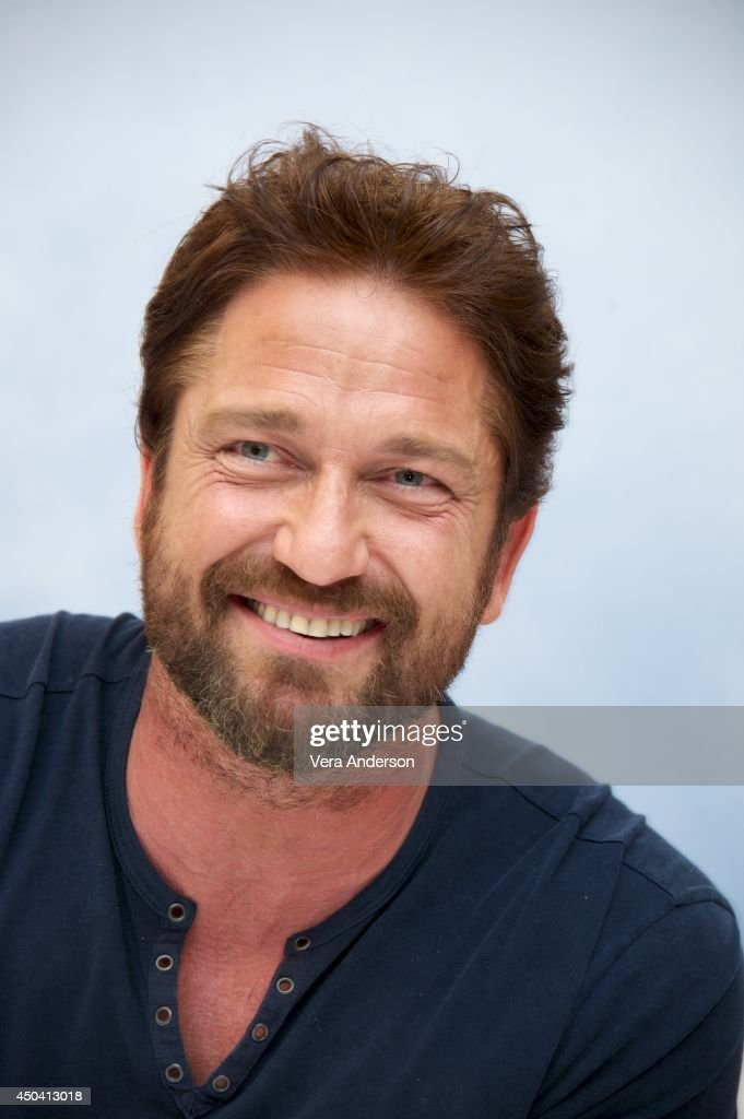 Gerard Butler at the 'How To Train Your Dragon 2' Press Conference at the Pacific Design Center on June 9, 2014 in West Hollywood, CA.