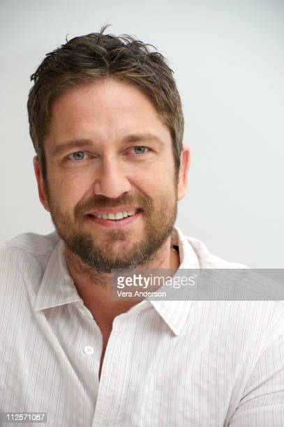 Gerard Butler at the 'How To Train Your Dragon' press conference at the Four Seasons Hotel on March 20 2010 in Beverly Hills California