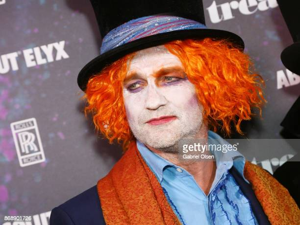 Gerard Butler at treats Magazine's 7th Halloween Party in Partnership with RollsRoyce Black Badge Absolut Elyx Perrier Jouet on October 31 2017 in...