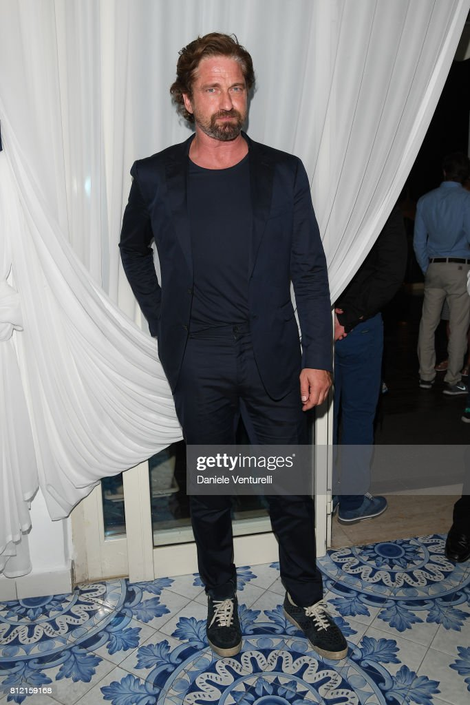Gerard Butler attends 2017 Ischia Global Film & Music Fest on July 10, 2017 in Ischia, Italy.