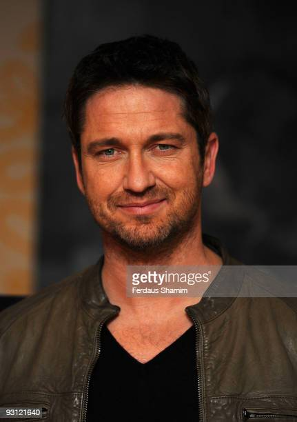 Gerard Butler attends a photocall to promote the new film 'Law Abiding Citizen' on November 17 2009 in London England