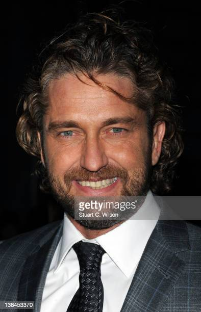 Gerard Butler attends a special screening of Coriolanus at The Curzon Mayfair on January 5 2012 in London England