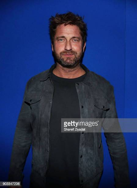 Gerard Butler attends 'Den Of Thieves' Private Screening at the Whitby Hotel on January 9 2018 in New York City