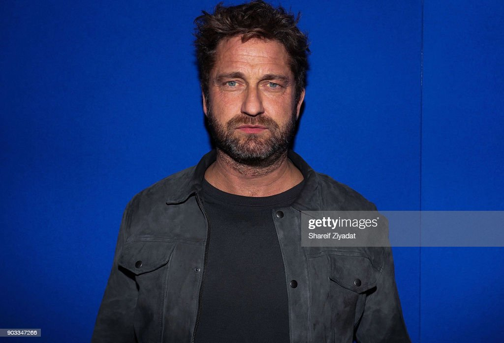 Gerard Butler attends 'Den Of Thieves' Private Screening at the Whitby Hotel on January 9, 2018 in New York City.