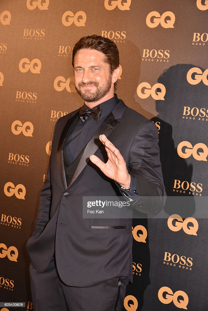 Gerard Butler attends GQ Men Of The Year Awards at Musee d'Orsay on November 23, 2016 in Paris, France.