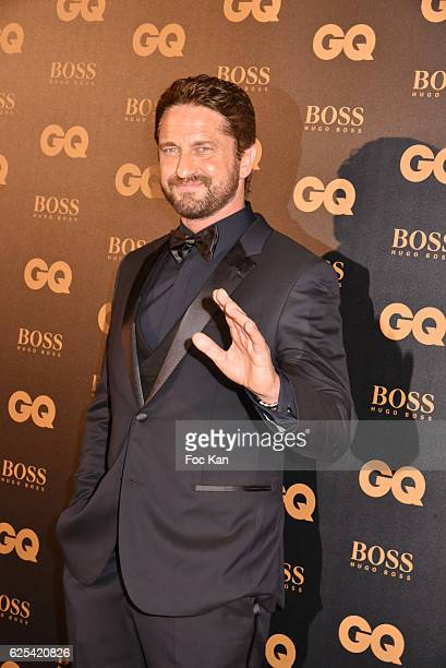 Gerard Butler attends GQ Men Of The Year Awards at Musee d'Orsay on November 23 2016 in Paris France