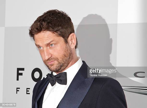 Gerard Butler attends NBCUniversal's 73rd Annual Golden Globes After Party at The Beverly Hilton Hotel on January 10 2016 in Beverly Hills California