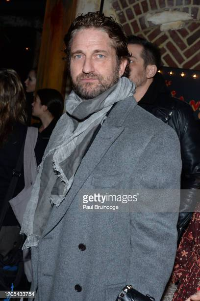 "Gerard Butler attends Sony Pictures Classics And The Cinema Society Host A Special Screening Of ""The Burnt Orange Heresy"" at The Roxy Cinema on March..."