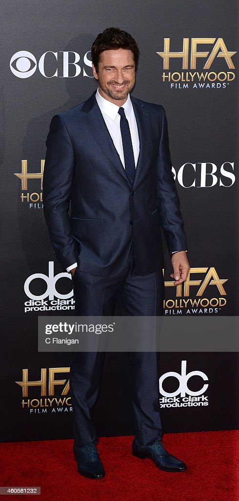Gerard Butler attends the 18th Annual Hollywood Film Awards at The Palladium on November 14, 2014 in Hollywood, California.