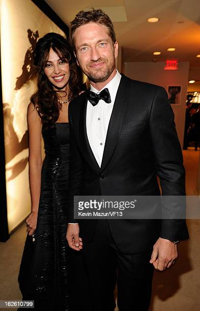 Gerard Butler attends the 2013 Vanity Fair Oscar Party hosted by Graydon Carter at Sunset Tower on February 24 2013 in West Hollywood California