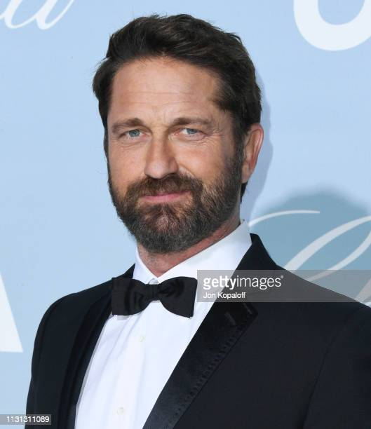 Gerard Butler attends the 2019 Hollywood For Science Gala at Private Residence on February 21, 2019 in Los Angeles, California.
