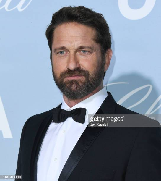 Gerard Butler attends the 2019 Hollywood For Science Gala at Private Residence on February 21 2019 in Los Angeles California