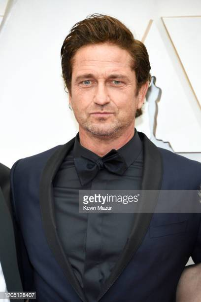 Gerard Butler attends the 92nd Annual Academy Awards at Hollywood and Highland on February 09 2020 in Hollywood California