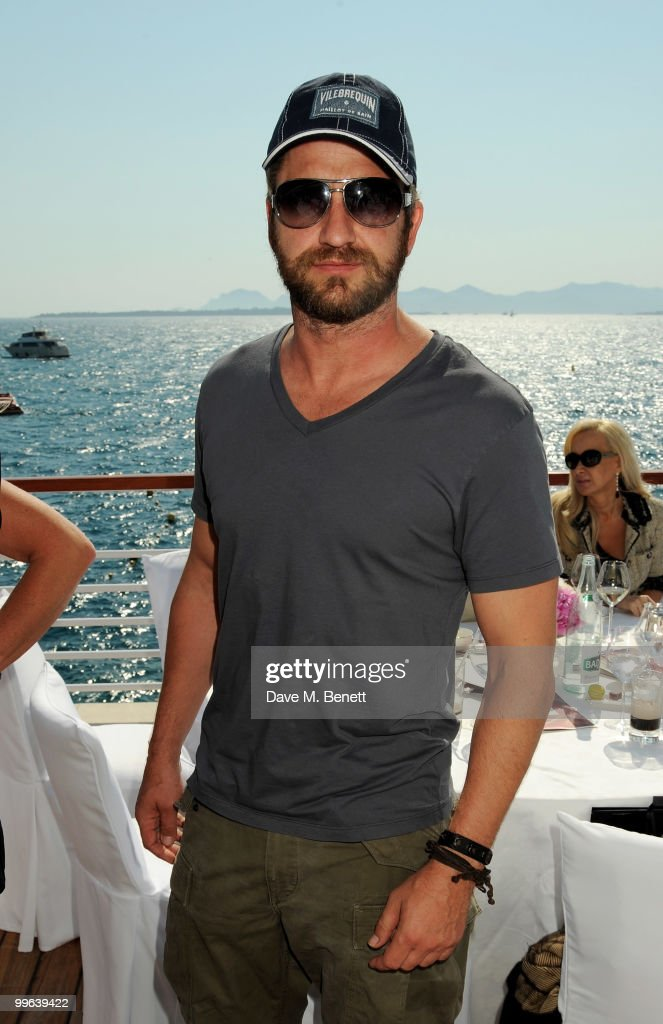 Gerard Butler attends the Amend Charity Luncheon at the Hotel du Cap as part of the 63rd Cannes Film Festival on May 17, 2010 in Antibes, France.