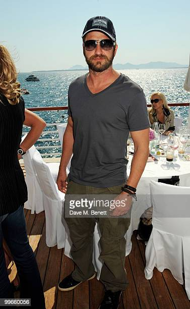 Gerard Butler attends the Amend Charity Luncheon at the Hotel du Cap as part of the 63rd Cannes Film Festival on May 17 2010 in Antibes France