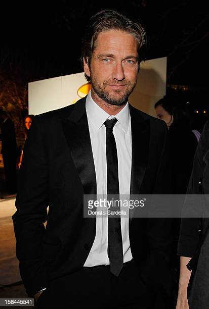 """Gerard Butler attends the Art Of Elysium's 4th Annual """"Heaven"""" Charity Gala at California Science Center's Wallis Annenberg Building on January 15,..."""