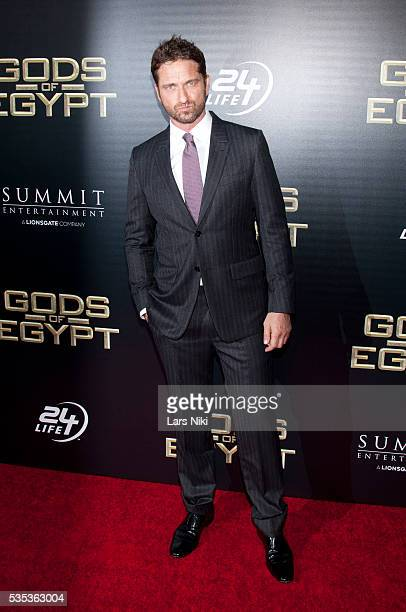 Gerard Butler attends the 'Gods Of Egypt' New York Premiere at AMC Loews Lincoln Square 13 in New York City © LAN