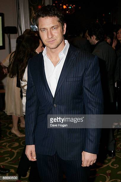 Gerard Butler attends the Jameson Empire Magazine Awards held at The Grosvenor House Hotel Park Lane on March 29 2009 in London England