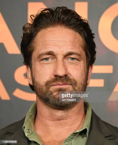 Gerard Butler attends the Photocall For Lions Gate's Angel Has Fallen at the Beverly Wilshire Four Seasons Hotel on August 16 2019 in Beverly Hills...