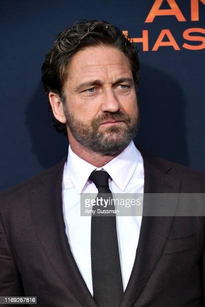 Gerard Butler attends the LA Premiere of Lionsgate's Angel Has Fallen at Regency Village Theatre on August 20 2019 in Westwood California