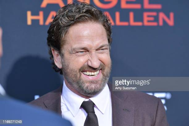 Gerard Butler attends the LA Premiere of Lionsgate's Angel Has Fallen at Regency Village Theatre on August 20 2019 in Westwood California