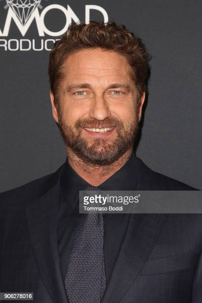 Gerard Butler attends the Premiere Of STX Films' 'Den Of Thieves' at Regal LA Live Stadium 14 on January 17 2018 in Los Angeles California