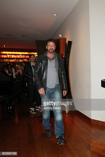 Gerard Butler attends The Season Of Cuba with Joshua Bell and The Chamber Orchestra Of Havana after party on November 1 2016 in New York City