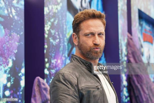 Gerard Butler attends Universal Pictures and DreamWorks Animation Premiere of How to Train Your Dragon The Hidden World at Regency Village Theatre on...