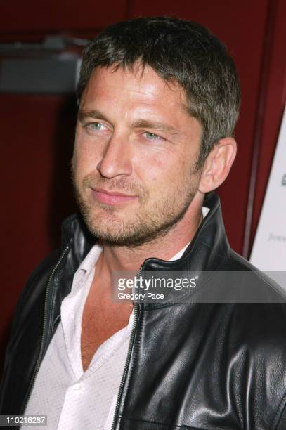 Gerard Butler during Dressed to Kilt A Scottish Evening of Fashion and Fun Arrivals and Backstage at Copacabana in New York City New York United...