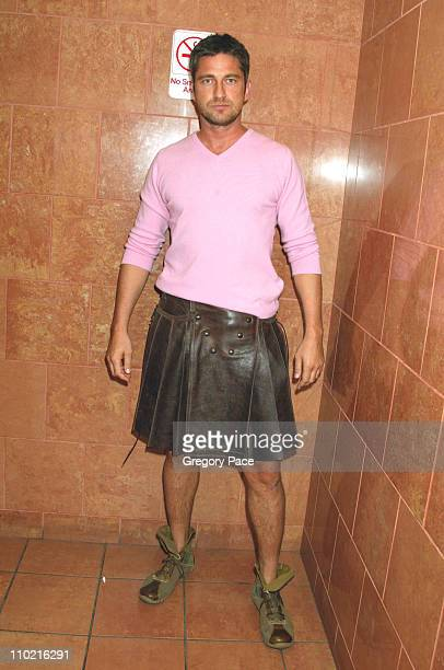 Gerard Butler during 'Dressed to Kilt' A Scottish Evening of Fashion and Fun Arrivals and Backstage at Copacabana in New York City New York United...