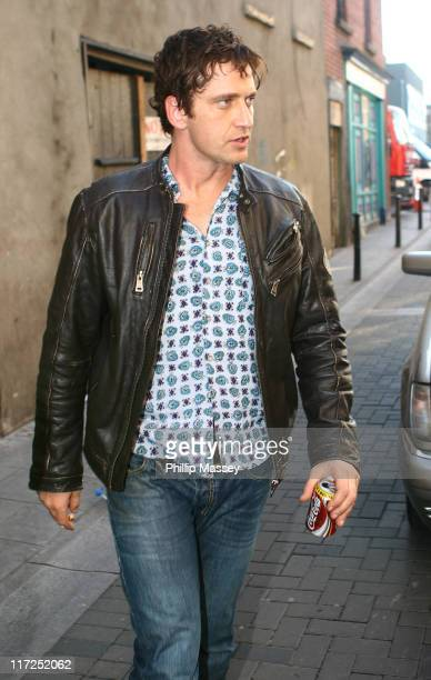 Gerard Butler during Gerard Butler and Jeffrey Dean Morgan on location for PS I love You October 9 2006 at Dublin in Dublin Great Britain