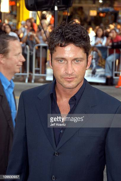 Gerard Butler during Lara Croft Tomb Raider The Cradle of Life World Premiere at Grauman's Chinese Theatre in Hollywood California United States