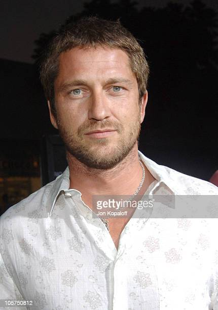 """Gerard Butler during """"Red Eye"""" Los Angeles Premiere - Red Carpet at Mann Bruin Theater in Westwood, California, United States."""