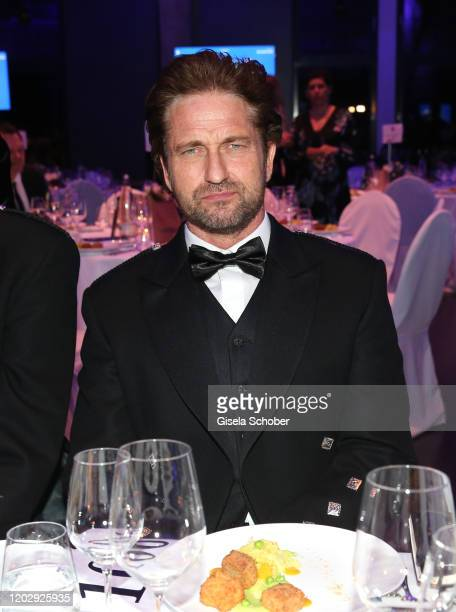Gerard Butler during the Cinema For Peace Gala at Westhafen Event Convention Center on February 23 2019 in Berlin Germany